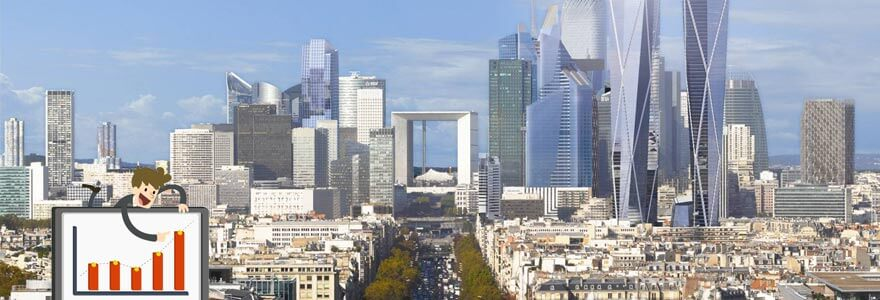 Photo idf la défense investir locatif